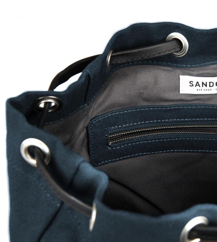 Sandqvist Sandqvist Backpack Alva blue w. black