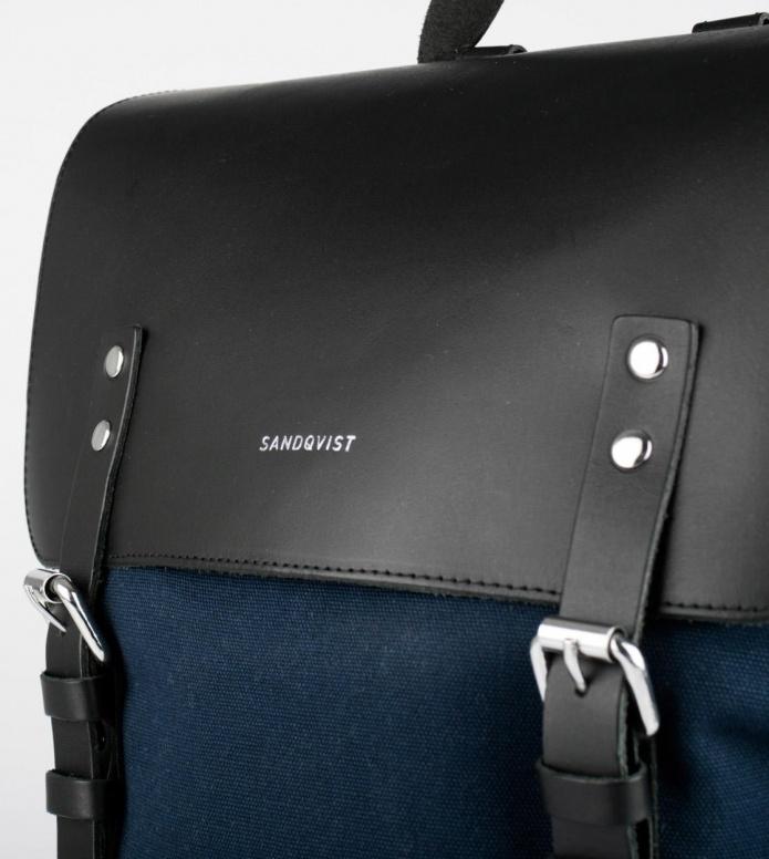 Sandqvist Sandqvist Backpack Hege blue w. black
