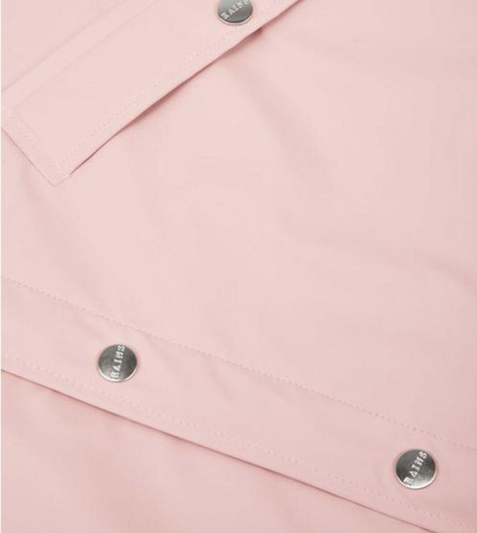 Rains Rains Rainjacket Short pink rose