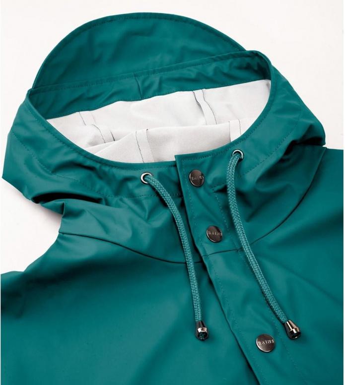 Rains Rains Rainjacket Short green dark teal