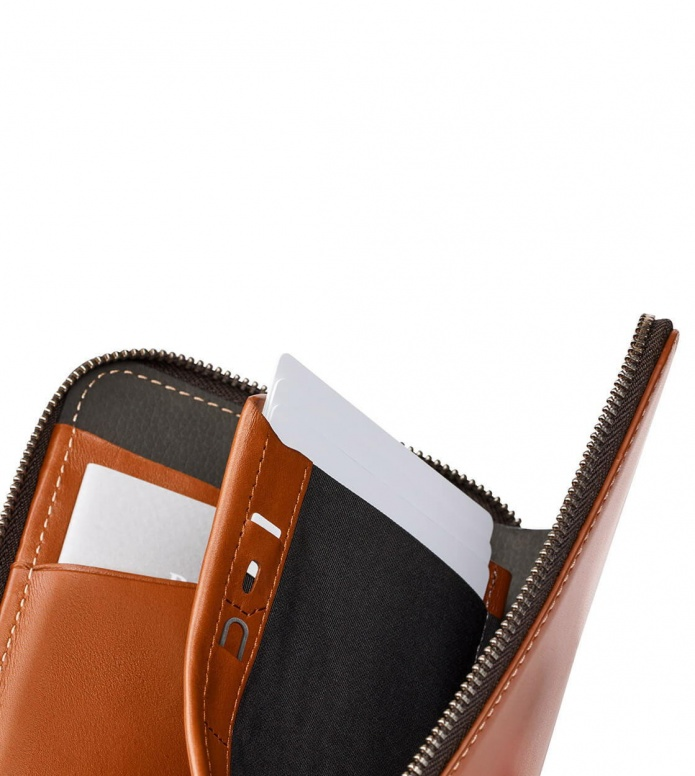 Bellroy Bellroy Travel Folio RFID brown caramel