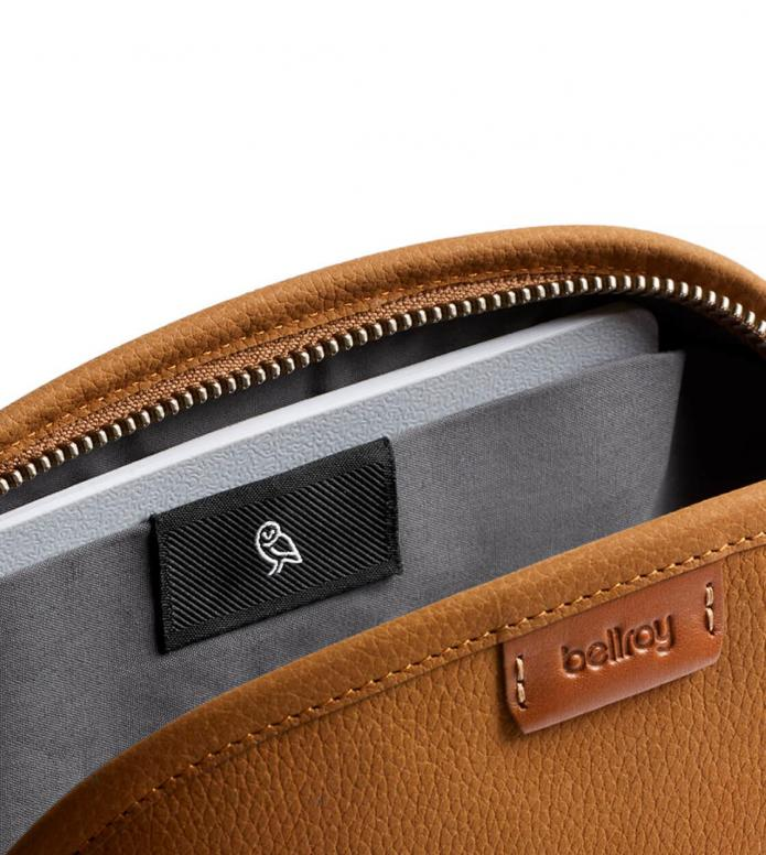 Bellroy Bellroy Classic Pouch Leather brown tan