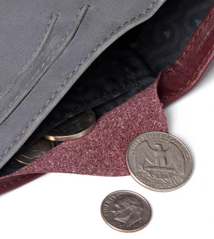 Bellroy Bellroy Wallet Note Sleeve II RFID red wine