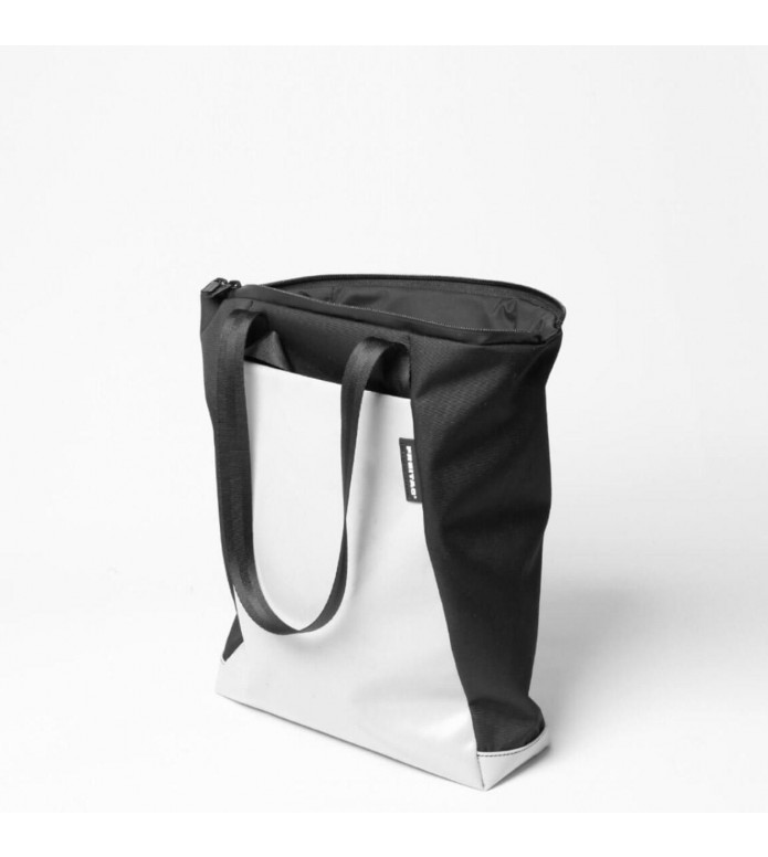 Freitag Freitag ToP Tote Bag Davian black/silver/blue/white
