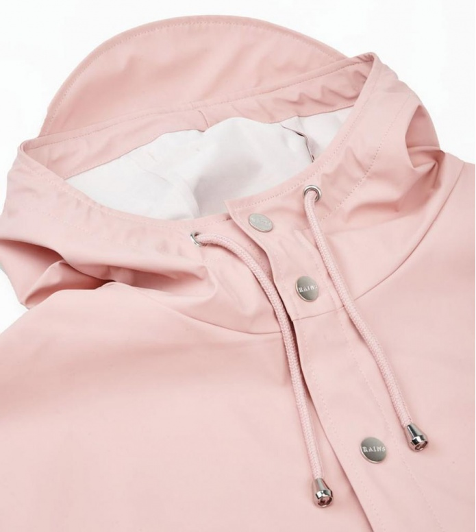 Rains Rains Rainjacket Long pink rose