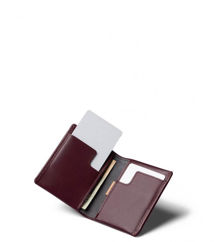 Bellroy Bellroy Wallet Slim Sleeve red wine