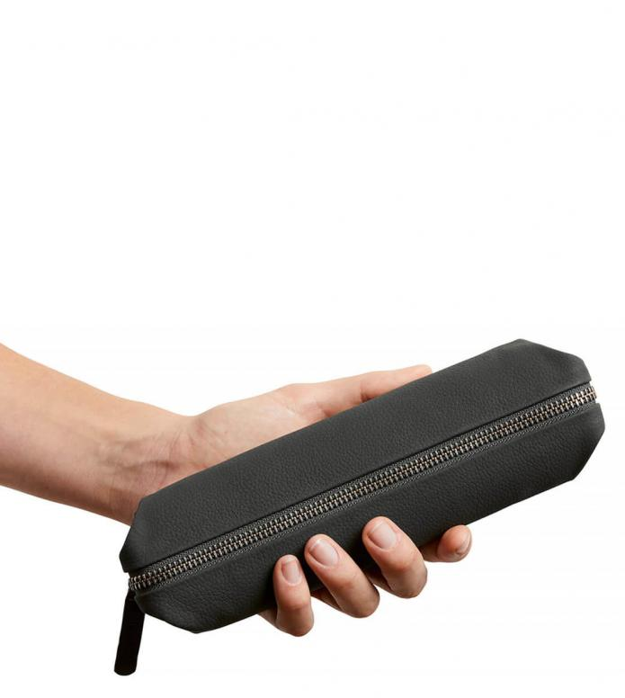 Bellroy Bellroy Pencil Case Leather grey charcoal