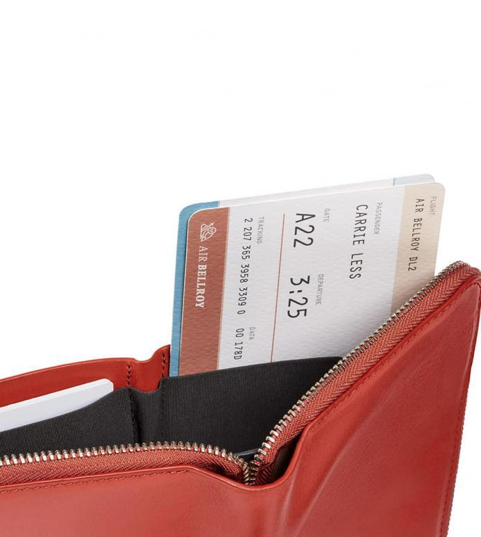 Bellroy Bellroy Travel Folio RFID red tangelo