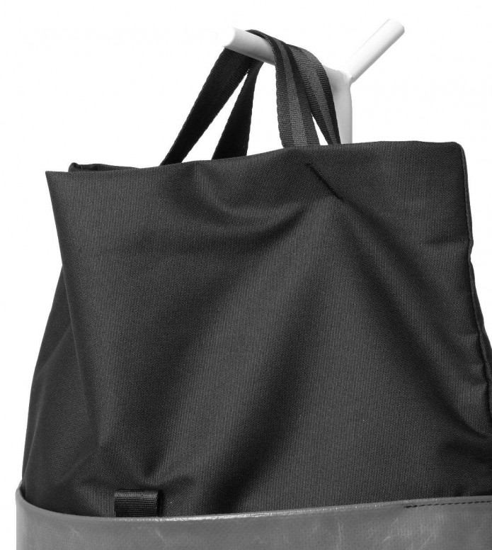 Freitag Freitag ToP Bag Rollin black/white/blue