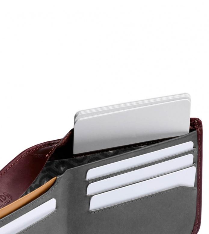 Bellroy Bellroy Wallet Hide & Seek HI RFID red wine