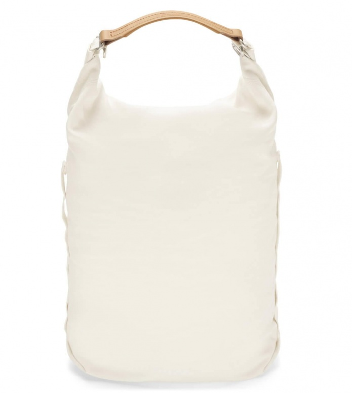 Qwstion Qwstion Bananatex Backpack Roll Pack white natural
