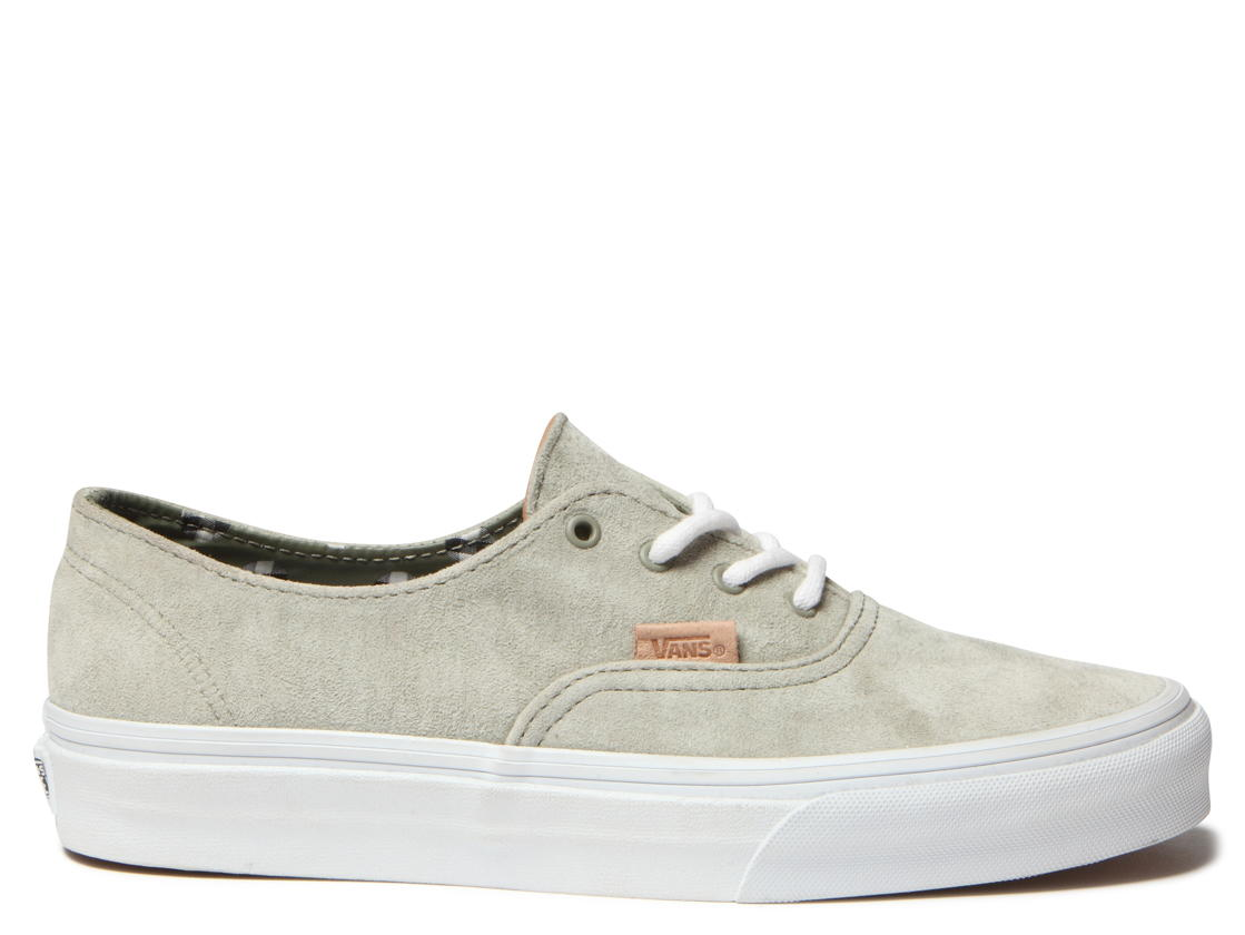 Vans W Shoes Authentic Decon Ca grey picsuede polka laurel