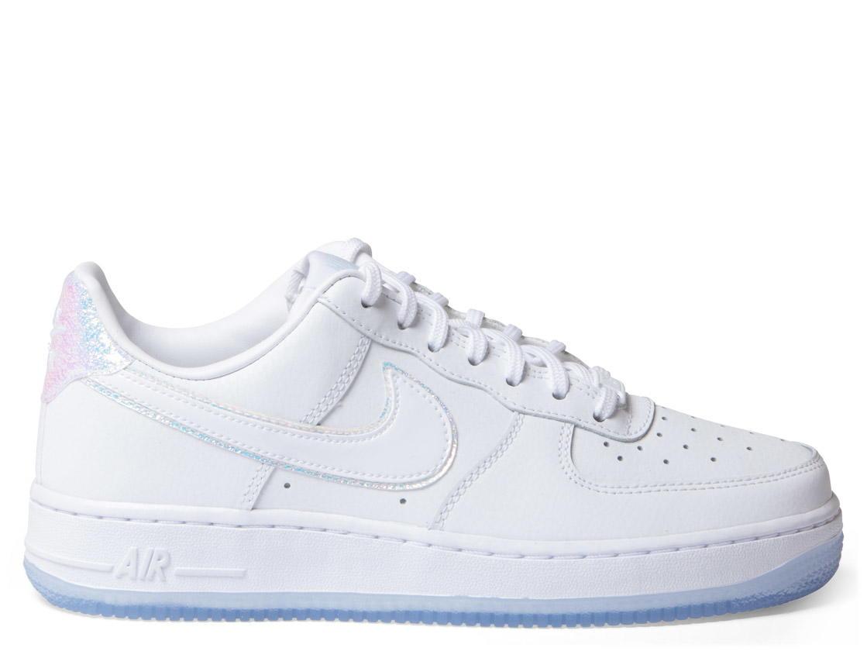 Nike W Shoes Air Force 1 07 PRM whitewhite blue tint « Nike