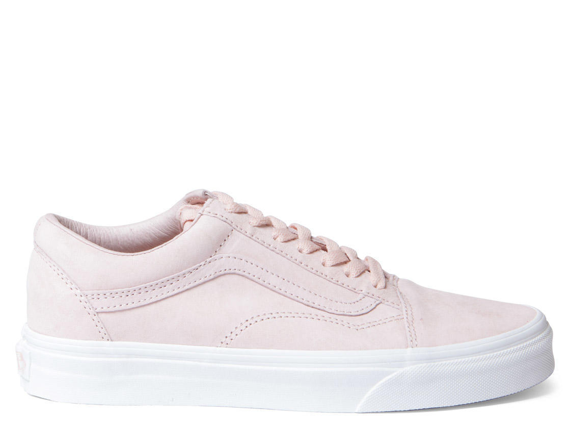 Vans W Shoes Old Skool Suede pink spanish villablanc de