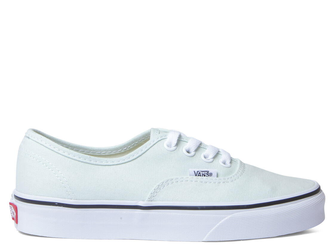 Vans W Shoes Authentic green blue flowertrue white