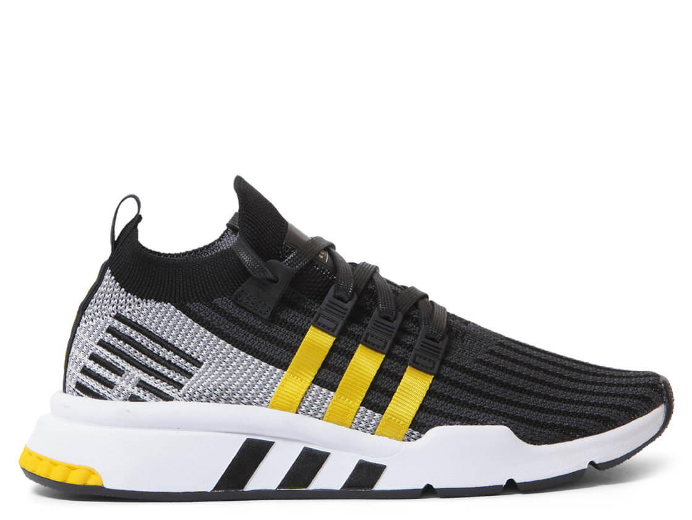 Adidas Shoes EQT Support Mid ADV PK grey core blackeqt yellowfootwear white