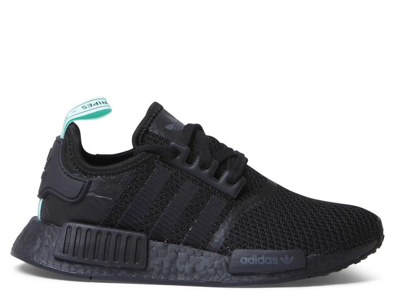Adidas W Shoes NMD R1 black corecore black clear mint